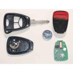 Key Fob & Torch Battery - Motabitz